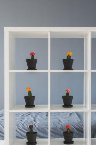 卧室白色细节现代风格装修设计图片