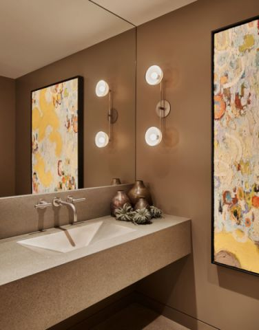 时尚创意现代风格卫生间装修效果图