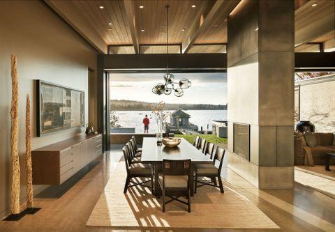 餐厅细节现代风格效果图