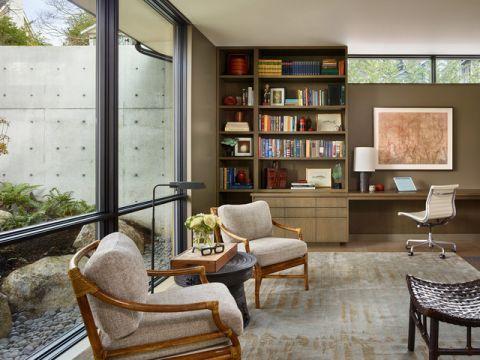 书房细节现代风格装修效果图