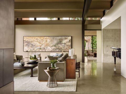 客厅吧台现代风格装潢效果图