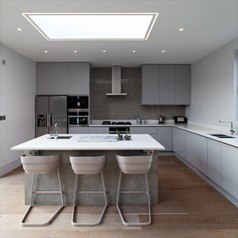 厨房阁楼现代风格装潢设计图片