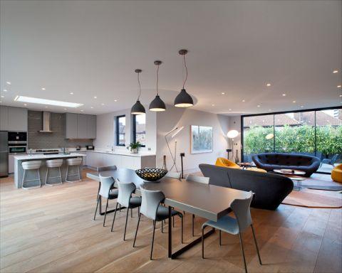 餐厅阁楼现代风格效果图