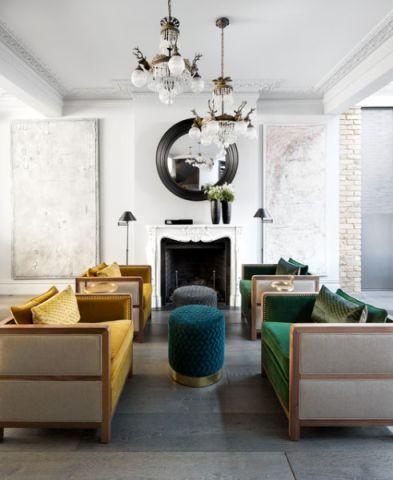 特立独行现代风格客厅装修效果图