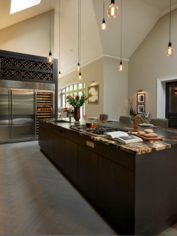 厨房隔断现代风格装饰效果图