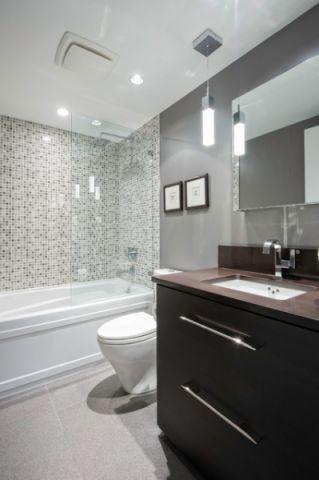 独具风情现代风格浴室装修效果图
