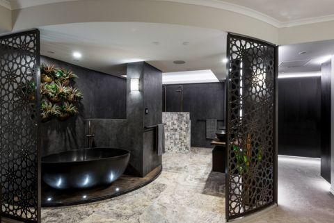 文艺现代风格浴室装修效果图