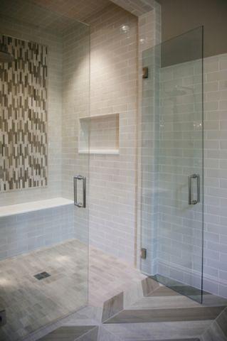 卫生间推拉门现代风格装修设计图片