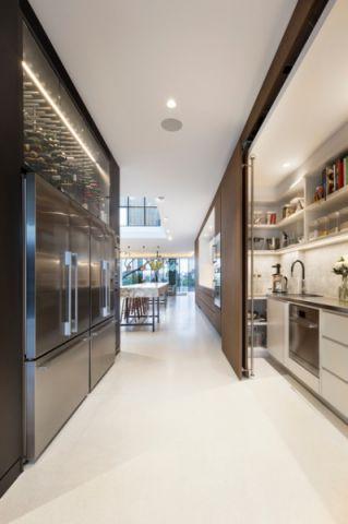 厨房走廊现代风格装修效果图