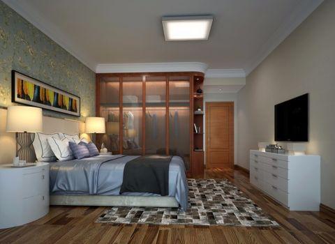 卧室照片墙现代风格装修设计图片