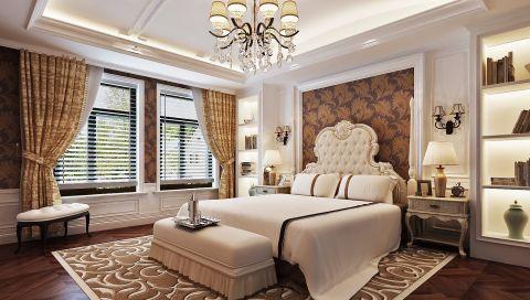 卧室窗台美式风格装潢图片