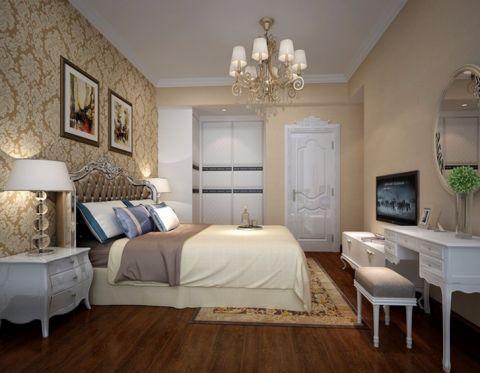 卧室照片墙欧式风格装潢效果图
