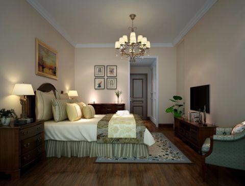卧室背景墙现代风格装饰效果图