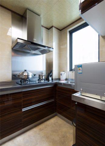 厨房橱柜新古典风格装潢效果图