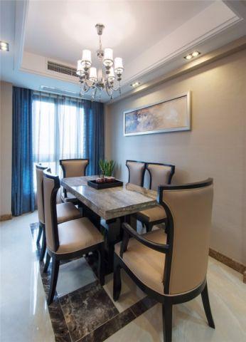 餐厅餐桌新古典风格装饰图片