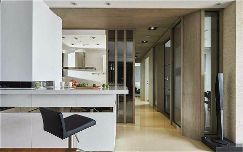 厨房走廊简约风格装修图片