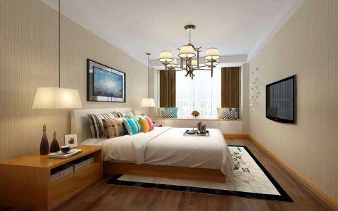 紫金文昌175平米简约风格三居室装修效果图