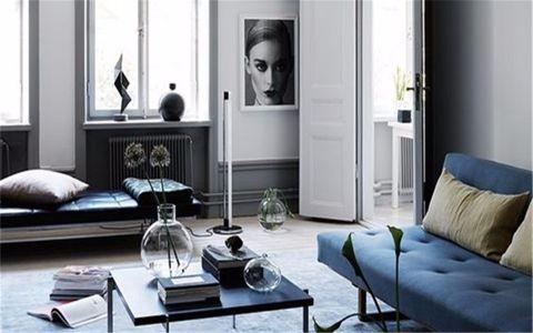 瑞和华府70平现代风格两居室装修效果图