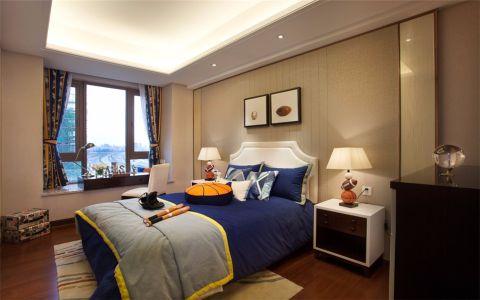卧室窗台中式风格装饰设计图片