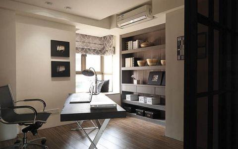 书房窗台现代简约风格效果图