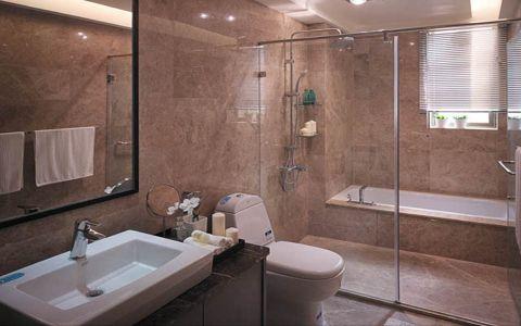 卫生间细节现代简约风格装潢效果图