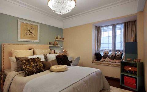 卧室吊顶简欧风格装饰效果图
