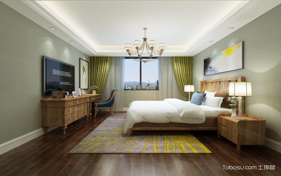 银仁御墅175平小美风三室两厅装修效果图