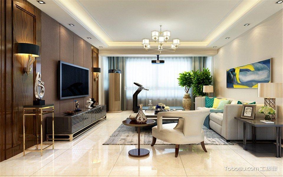 优山美郡150平米现代简约风格三居室装修效果图