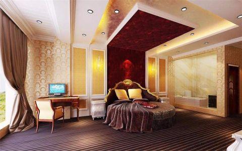 卧室飘窗东南亚风格装修设计图片