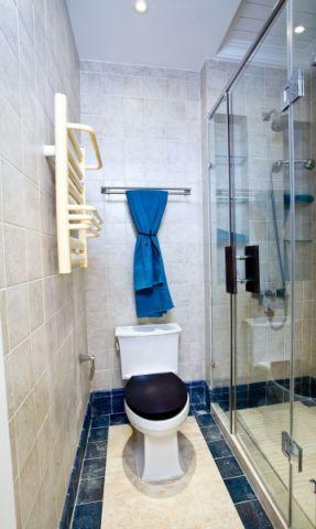 卫生间隔断地中海风格装饰效果图