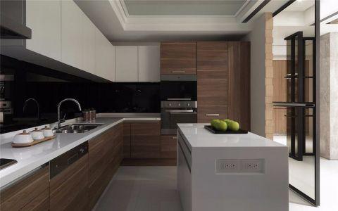 路劲城市印象170平米现代简约风格三室装修效果图