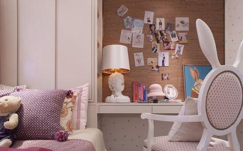 儿童房照片墙美式风格装潢效果图