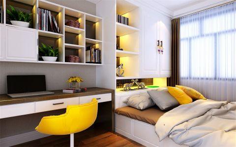 书房细节现代简约风格装潢图片