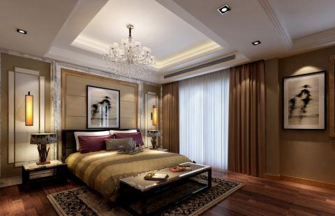 中海滨湖央墅382平米现代风格五居室装修效果图