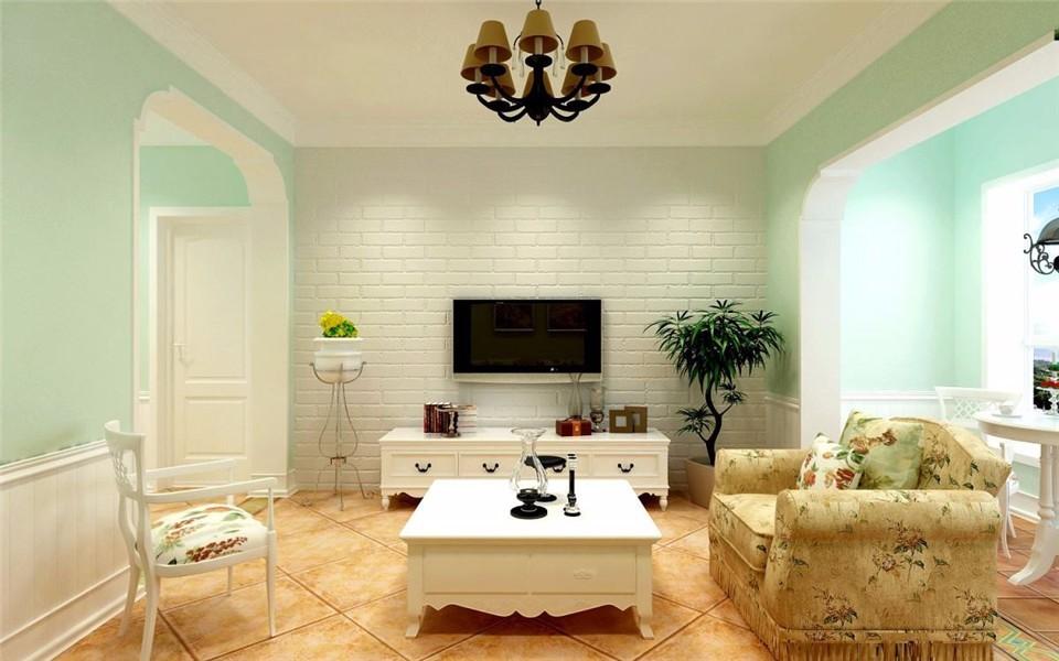 4室2卫2厅111平米田园风格