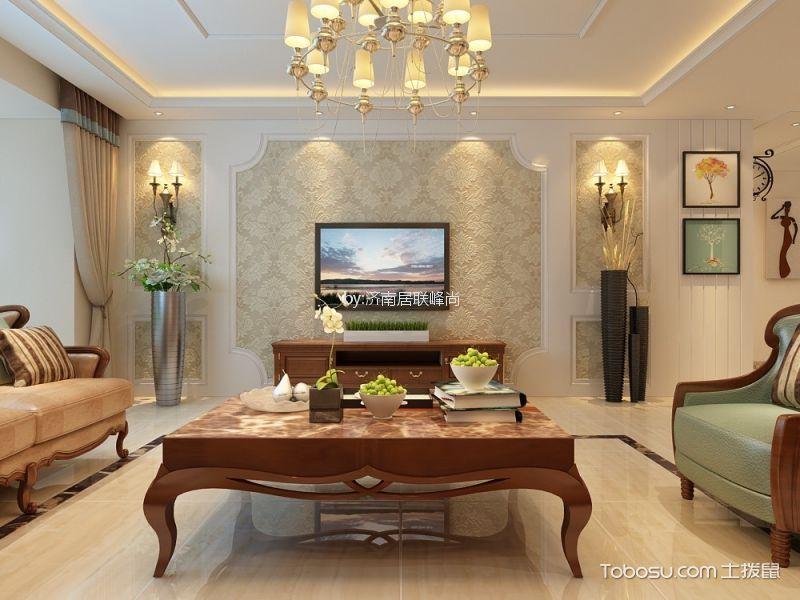 欧式风格169平米四室两厅室内装修效果图