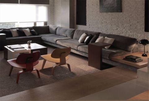 客厅细节现代简约风格装饰设计图片