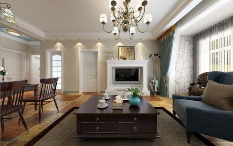 客厅吊顶欧式风格装修图片