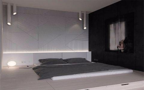 卧室门厅现代简约风格装修图片