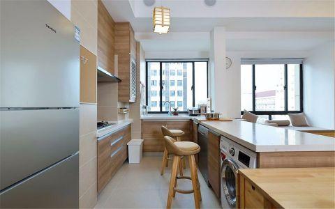 厨房背景墙日式风格效果图