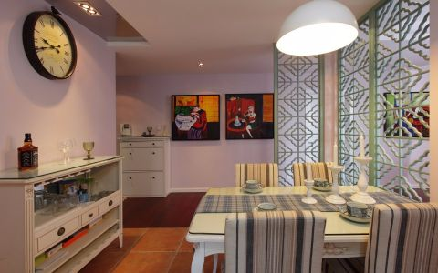 餐厅细节混搭风格装修设计图片
