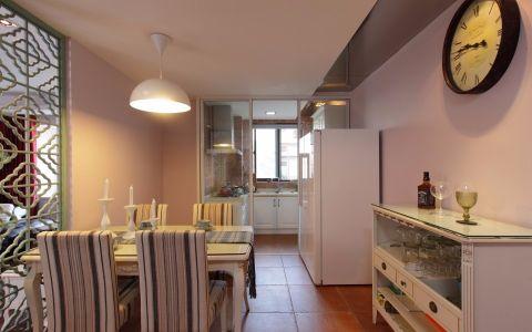 厨房走廊混搭风格装饰设计图片
