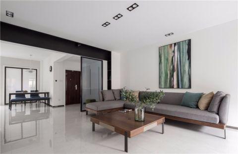 凯美怡和花园155平现代风格四房装修效果图