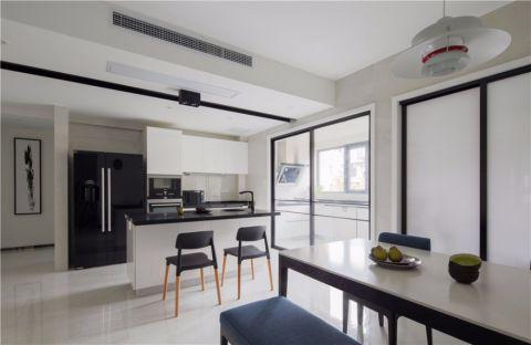厨房隔断现代简约风格装饰效果图