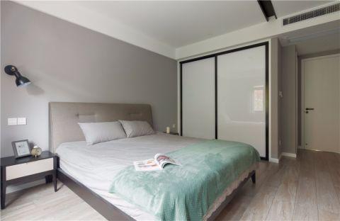 卧室走廊现代简约风格装潢效果图