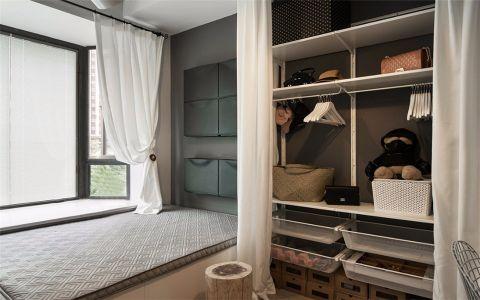 卧室飘窗北欧风格装潢设计图片