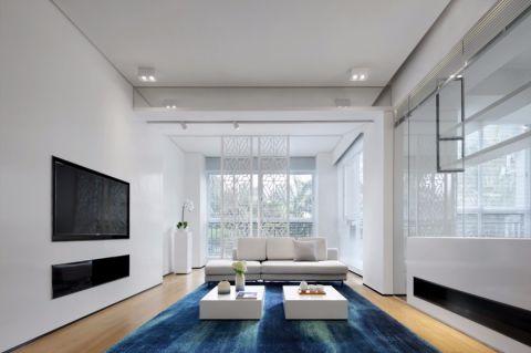 梵顿公馆88平现代风格两房装修效果图