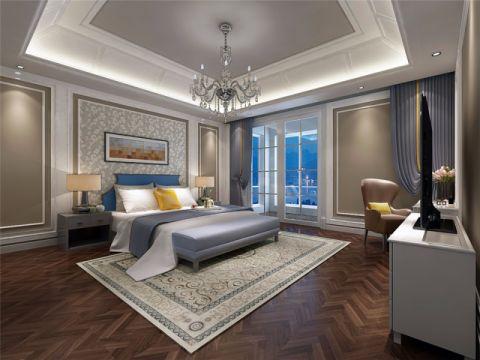 富力桃园780平新中式风格独栋别墅装修效果图