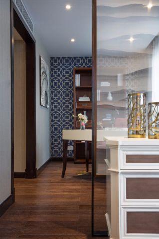 书房细节美式风格装饰设计图片