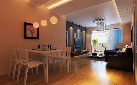 厨房窗帘现代简约风格装潢图片